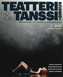 &Tanssi+Sirkus 7/2016